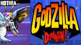 Godzilla - Domination - Mothra (GBA)