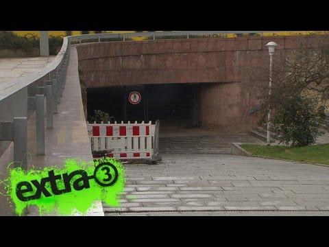 Realer Irrsinn: Fußgängertunnel dicht in Dresden | extra 3 | NDR