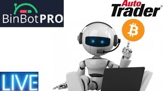BinBot Pro Automated Cryptocurrency Trading Robot! Live Session!!