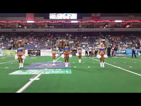 Texas Revolution Dancers 1st Quarter 061816