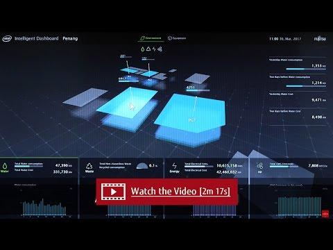 Case Study: Intel / Fujitsu partnership Smart Office and Smart Factory - Intel Penang  Factory