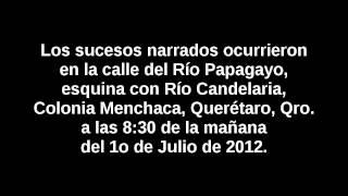 Elección 2012: Vecino de colonia Menchaca, Querétaro, reporta compra de votos a favor del PRI