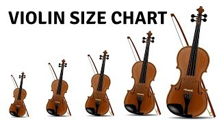 How To Choose The Right Violin Size 🎻 Violin Size Chart