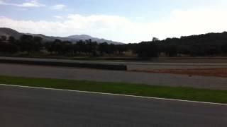 Ferrari fxx pit straight ascari