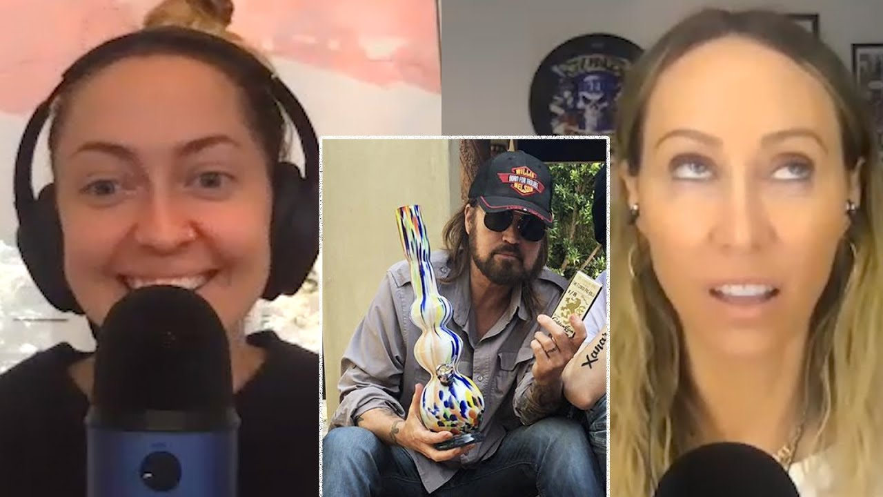 Tish Cyrus on What Billy Ray Cyrus Is Like When He's High