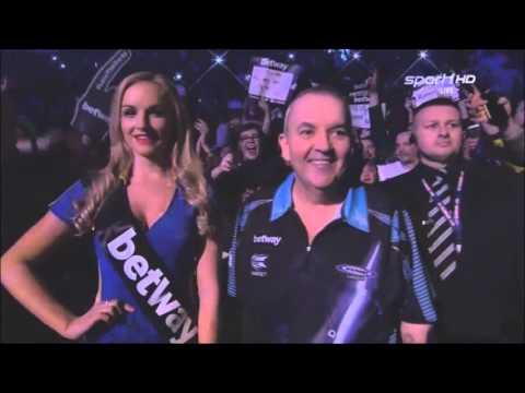 Phil Taylor Walk On Prmier League Darts 2016