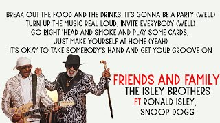 The Isley Brothers Friends And Family Ft Snoop Dogg Official Instrumental - مهرجانات