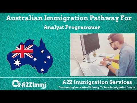 Australia Immigration Pathway for Analyst Programmer (ANZSCO Code: 261311)
