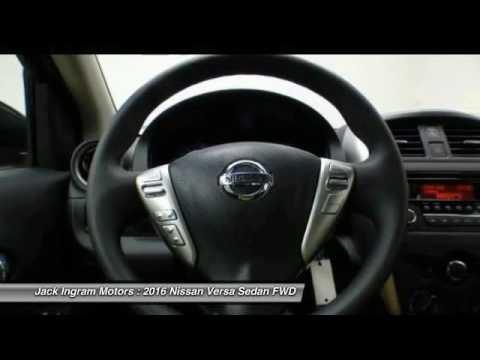 2016 Nissan Versa Montgomery AL N16798