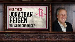Houston Chronicle's Jonathan Feigen Talks Rockets & More w/Dan Patrick | Full Interview | 7/11/18