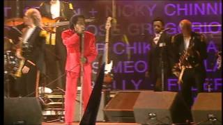 James Brown - I Feel Good (Live 8, Edinburgh 2005)