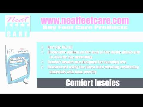 Foot Care Products: Arch Cushion, Athletic Foot & Toe Cream and Comfort In-sole