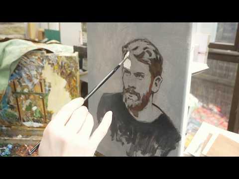 OCAD Studio: Limited Palette Portrait in Oil Part 3