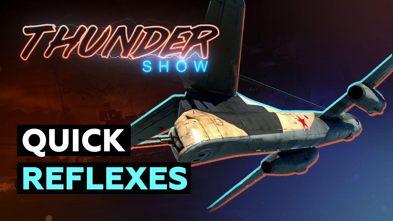 Thunder Show: Quick reflexes