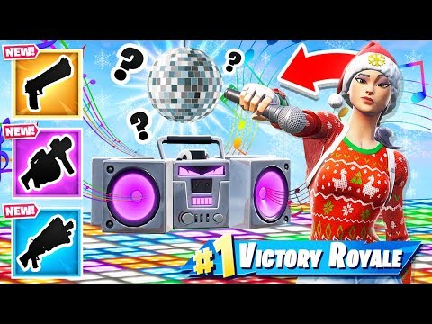 RANDOM *NEW* BOOMBOX Loot Dropper Game mode in Fortnite Battle Royale