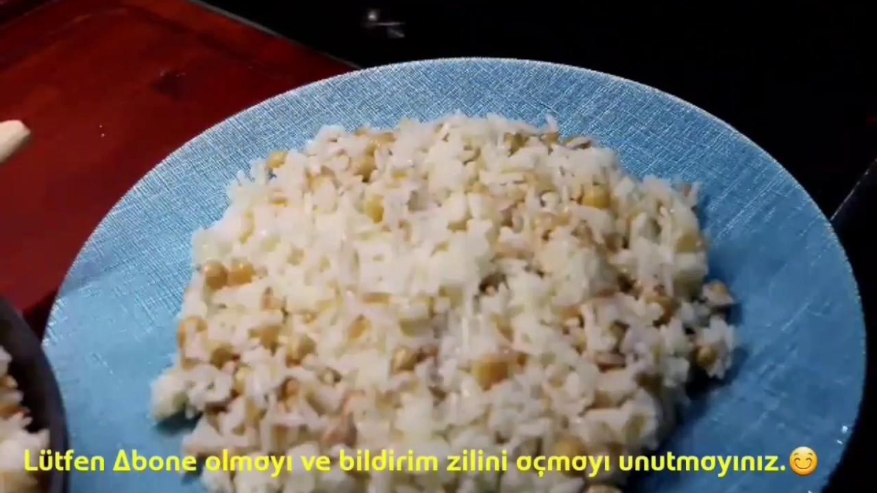 Nohutlu Pirinç Pilavı Tarifi, Tane tane pirinç pilavı nasıl yapılır? sevginin sofrasi
