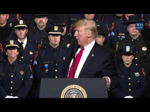 Trump encourages police violence during criminal arrests