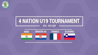 India U20 to play against France and Croatia
