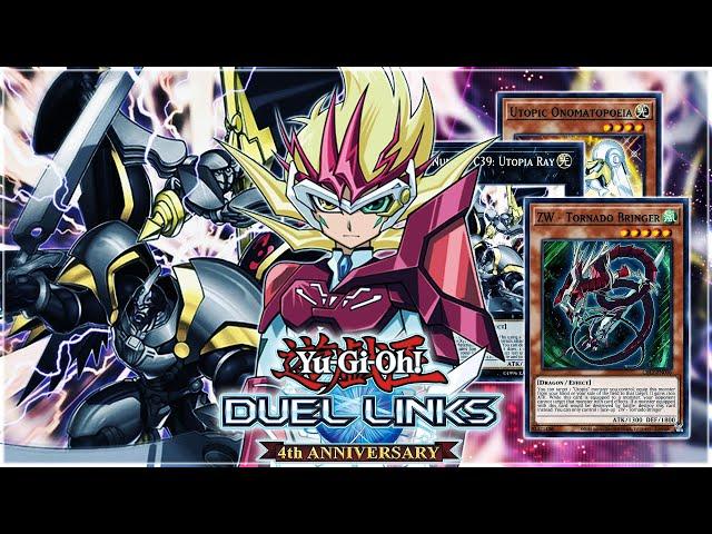 ZEXAL MORPH! Number C39: Utopia Ray w/ ZEXAL WEAPONS Yuma & Astral Deck! | Yu-Gi-Oh! Duel Links Mini