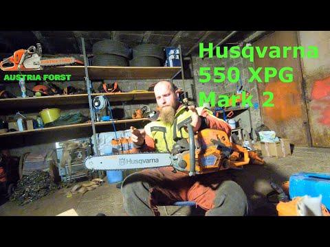 Erste eindrücke über die neue Husqvarna 550 XPG Mark 2 Austria Forst real talk