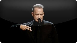 Repeat youtube video Tom Hanks Performs Slam Poem About