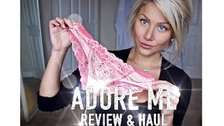 Adore Me lingerie haul & review