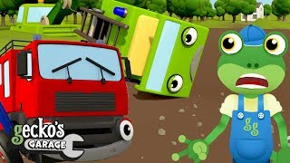 5 Little Fire Trucks Song and More | Nursery Rhymes and Kids Songs | Gecko's Garage | Truck Songs