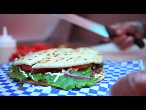 At The Table: 7-inch Pita Burger