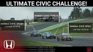 Ultimate Honda Civic Battle