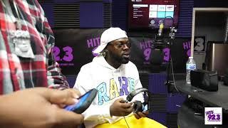 BiggVon Take Over at Hits 92.3 Radio Atl