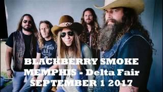 BLACKBERRY SMOKE - Live in Memphis - Sept 1, 2017