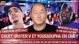 - C'Cauet sur NRJ - LIVE MERCREDI 20 AVRIL avec LE WOOP