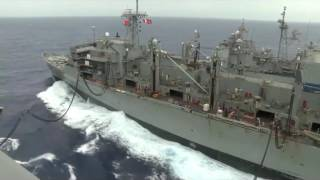Gambar cover World Amazing Refueling Gigantic Aircraft Carrier with Mililions $ of Oil