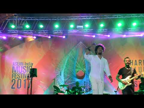 ASEAN INDIA MUSIC FESTIVAL- 2017- Papon live