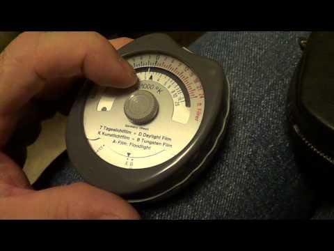 GOSSEN Sixticolor color temperature meter