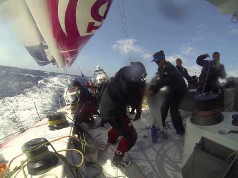 VO65 Team SCA - Tacking
