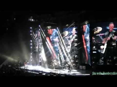 【Strawberry Alice】Metallica WorldWired Tour 2017 Shanghai , Mercedes Benz Arena , 15/01/2017.