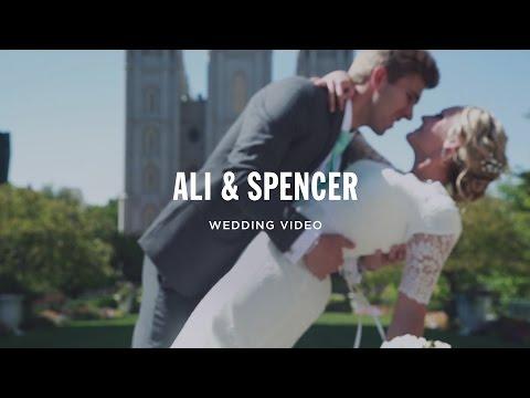 Backyard Garden Wedding + Salt Lake City Temple Wedding Video