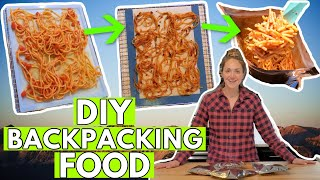 HOW TO DEHYDRATE YΟUR OWN BACKPACKING FOOD: DIY Backpacking Meals (how I do it!)