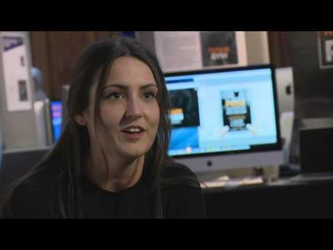 BSc (Hons) Creative Media Technology Student Stephanie Martin