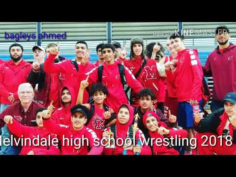 Melvindale high school wrestling 2018