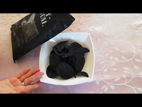 Черные чипсы из Fix Price / Black Chips From  Fix Price