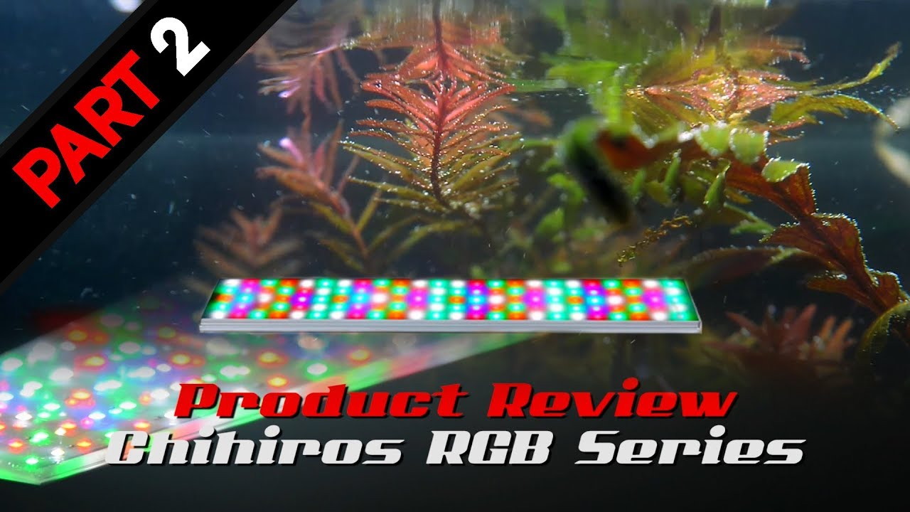 Plafoniera Led Rgb : Chihiros rgb series led light product review part 2 youtube