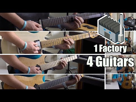 Strandberg vs Sterling vs Schecter vs Chapman: 4 Guitars 1 Factory: