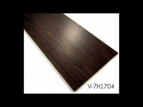6mm-8mm Thick  Wooden WPC Vinyl Click Flooring Plank Tiles Manufacturer
