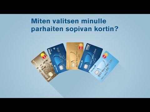 Miten valitsen minulle parhaiten sopivan kortin? | Nordea Pankki