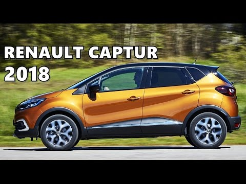 2018 renault captur test drive exterior interior features youtube. Black Bedroom Furniture Sets. Home Design Ideas
