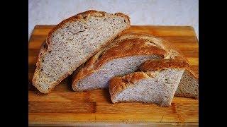 Ржано пшеничный ХЛЕБ на кефире Очень ВКУСНЫЙ и АРОМАТНЫЙ