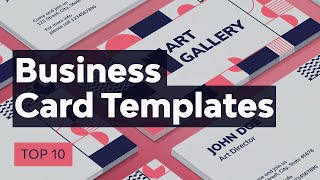 Gambar cover Top 10 Business Card Trends & Templates for 2020
