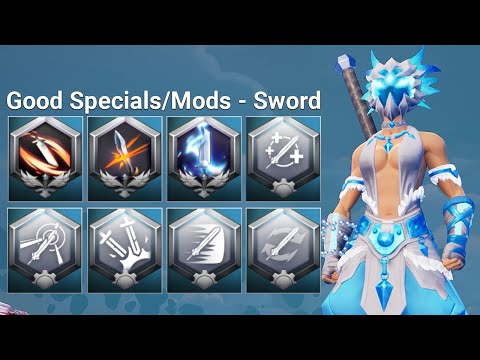 Which Sword Specials & Mods Are The BEST And The WORST - Dauntless